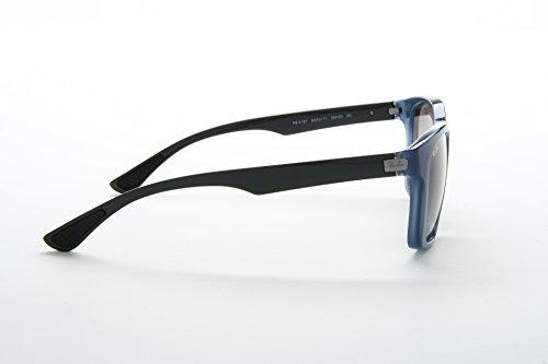 90907423a69 ... Ray Ban RB4197 Sunglasses-604211 Opal Blu Gray (Gray Lens)-56mm ...