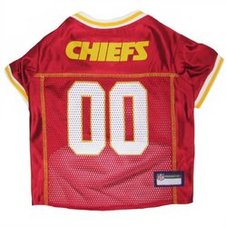 NFL AFC Pet Mesh Jerseys: Kansas City Chiefs/large 700193
