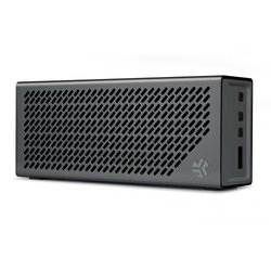 The Crasher by JLab Portable Bluetooth Hi-Fi Speaker - Midnight Black