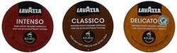 Lavazza Sampler Pack for Keurig Rivo 3 Flavors 10 Pods Each 30 Count
