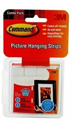 Command Damage-Free Picture Hanging Strips - White - 4-Small/8-Medium