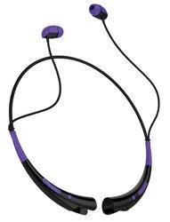 Aduro Amplify Pro Stereo Bluetooth Headset: Purple