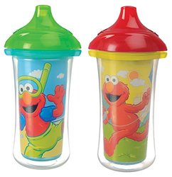 Munchkin 2 Count Sesame Street Click Lock Insulated Sippy Cup - 9 Ounce
