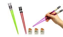 2-Pack Lightssaber Chopsticks - Vader Yoda