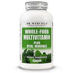 Dr. Mercola Whole Food Multivitamin Plus Vital Minerals - 240 Tablets