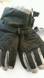 Grand Sierra Women's Tusser Snowboard Gloves - Black - Size: Medium