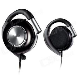 Philips Adjustable Earclip on Stereo Headphones - Black (SHS4700/98)