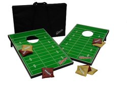 NCAA Green Football Field Tailgate Toss Game