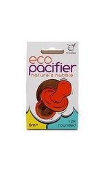 Ecopiggy Rounded Natural Pacifier (1pk) (6m+)