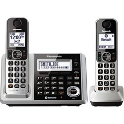 Panasonic KXTGF372S Dect 2-Handset Landline Telephone