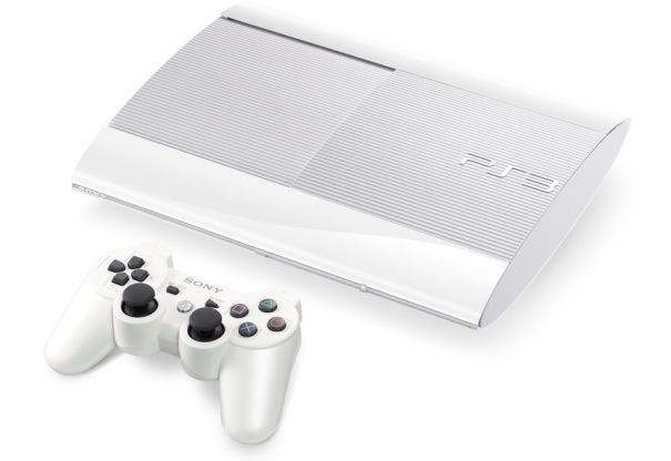 Sony PlayStation 3 Slim 500GB Console - White - Check Back Soon
