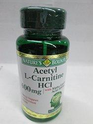 Nature's Bounty L-Carnitine 400 mg & ALA 200 mg, 30 Capsules