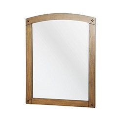 "HDC Avondale 30-3/4"" x 24-1/4"" Wall Mirror - Weathered Pine"