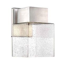 HDC HB7054A-35 Essex Brushed Nickel Outdoor LED Powered Wall Lantern