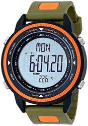 Columbia Men's Digital Compass Sport Watches: Switchback/forest-orange