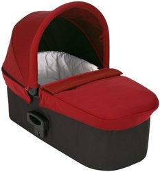 Baby Jogger Soft & Comfortable Deluxe Pram - Red
