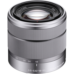 Sony Alpha SEL1855 E-mount 18-55mm F3.5-5.6 OSS Zoom Lens (Silver)