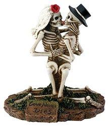 Summit SS-Y-7725 Love Never Dies Collectible Skeleton Sculpture