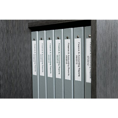 dymo labelwriter self adhesive book spine labels 1 by 1 1 2 inch