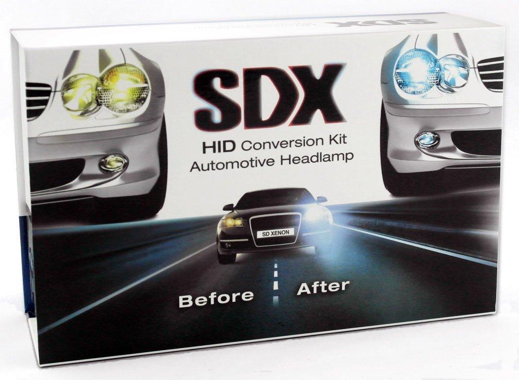 kits sdx h1 5000k hid headlight dc xenon