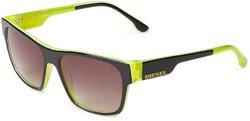 Diesel Men's Sunglasses: Dl0012/05b Black/neon Frame