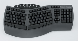 Fellowes 98915 Antimicrobial Split Design Keyboard