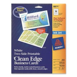 Avery printable clean edge business cards 8871 check back soon blinq avery printable clean edge business cards 8871 wajeb Images