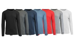 Men's Galaxy Waffle Knit Thermal - Black/Navy/Charcoal/White - Size:Large