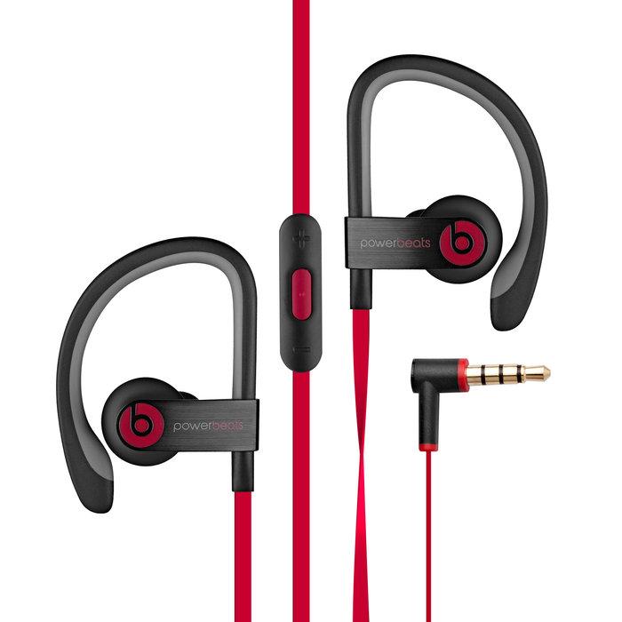 Beats By Dre Powerbeats2 In Ear Headphones Black Red Check Back Soon Blinq