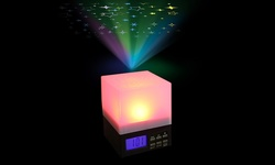 Dreamer Cube Alarm Clock with Spectacular Light Show
