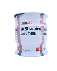 Cerrowire 500 ft. 10-Gauge Stranded THHN Wire - Red (112-3873J)