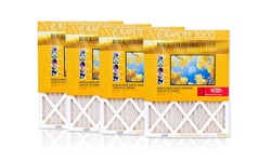 """Purafilter Air Filters - Gold - Size: 18x30x1"""" - 4-Pack"""