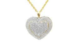Beauty Gem 2.0 CTTW Diamond Necklace - Heart Pendant