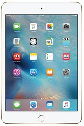 "Apple iPad Mini 4 7.9"""" Tablet 128GB WiFi + 4G - Gold (MK8F2LL/A)"" 762159"