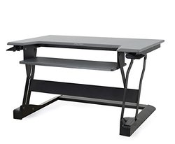 Ergotron Work Fit-T Sit-Stand Desktop Workstation Stand - 33-397-085