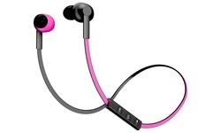 Pom Gear Bluetooth Basik Wireless Headphones-  Pink