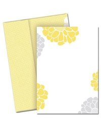 Image Shop 2012065 Sunny Flowers Invitation with Envelopes- General