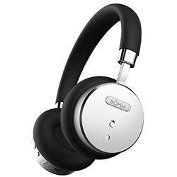 B HM Wireless Bluetooth Headphones - Black/Silver