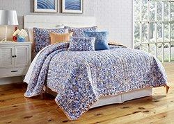 6-Piece Printed Reversible Quilt Set: Lauretta/King