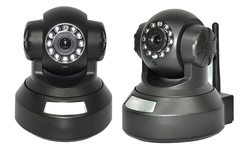 Kingstar IP Camera In-Door WiFi LAN / Wireless Two-Way Audio - Black