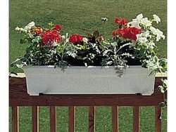 "Garden Accents: 24"" White Countryside Planter(Case of 10)"