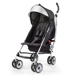 Summer Infant 3D lite Convenience Stroller in Black/Silver