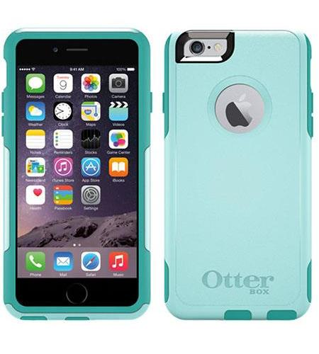newest 47686 d5838 OtterBox iPhone 6/6s Commuter Case - Aqua Sky (77-50221) - Check ...