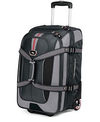 """High Sierra AT6 Carry On Drop Bottom Duffel - Graystone - Size: 26"""""""