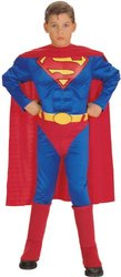Rubies Costume Deluxe Muscle Chest Superman Child - Medium