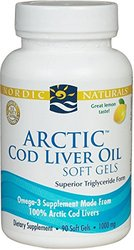 Nordic Naturals Arctic Cod Liver Oil 1,000mg Softgels - Lemon - 90 Ct
