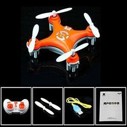 Cheerson CX-10 4CH 2.4GHz 6-Axis LED Mini RC Quadcopter - Bright Orange