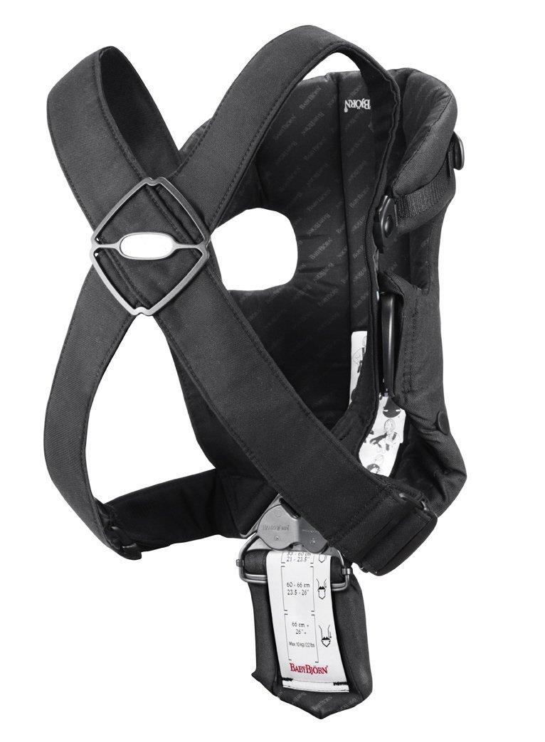 Babybjorn Unisex Baby Carrier Original Cotton Black 023071us