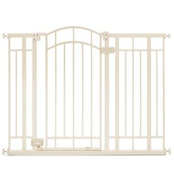 Summer Infant Multi Use Deco Extra Tall Walk-Thru Gate beige