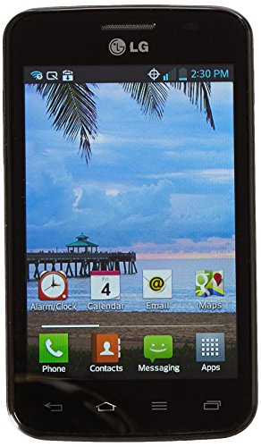 Net10 LG L38C Optimus Dynamic Prepaid Smartphone - Check